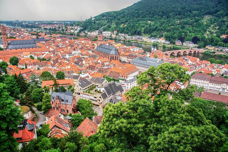 海德堡城堡俯瞰老城區 3