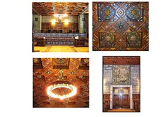 Lincoln Nebraska - State Capitol Building - Supreme Court Room - Historic