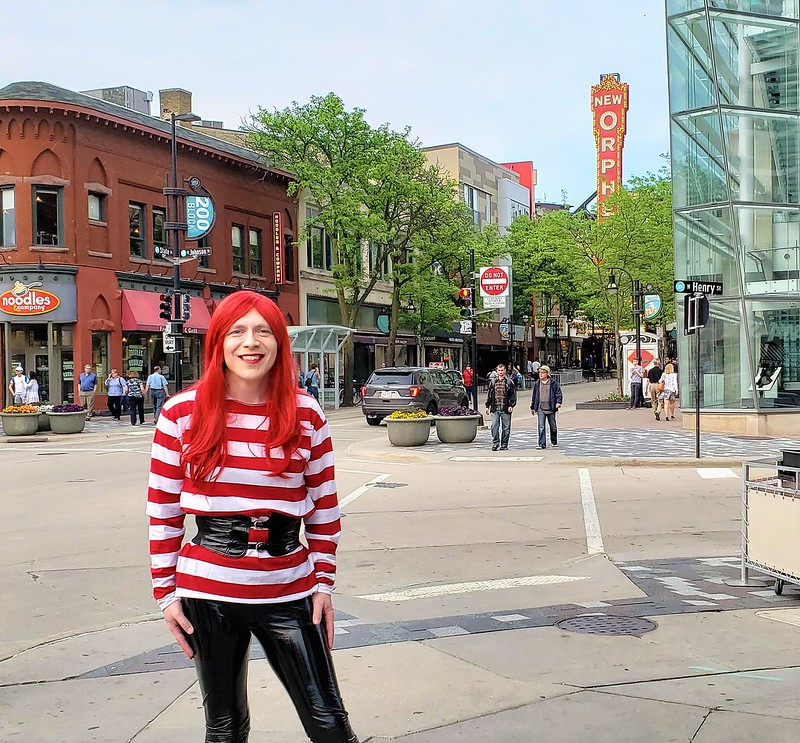 Yours truly on State Street