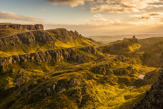 Sunrise at the Quiraing #2, Isle of Skye, Scotland [Explored] | by Anthony Lawlor