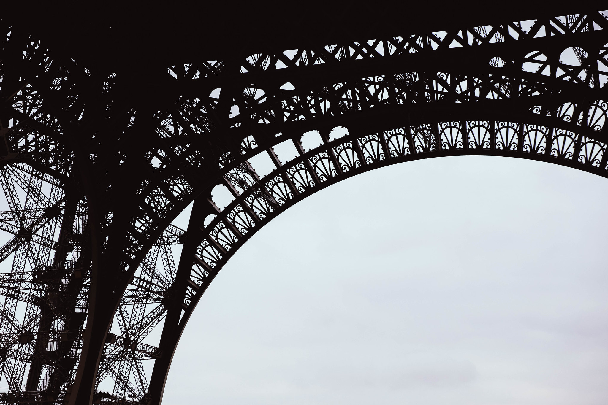 Another artistic Eiffel Tower shot