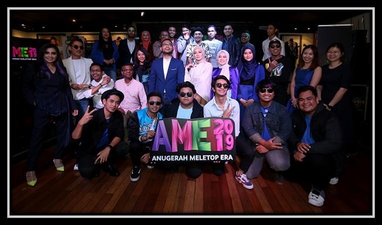 Pencalonan Top 5 Anugerah Meletop Era 2019
