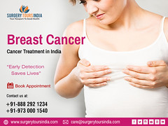Breast cancer treatment at top Hospital in India