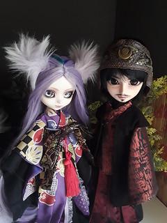 Serenaee and Ryuzaki | by Lunalila1