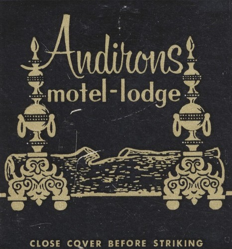 Andirons Motel-Lodge - Mt. Snow, Vermont | by The Cardboard America Archives