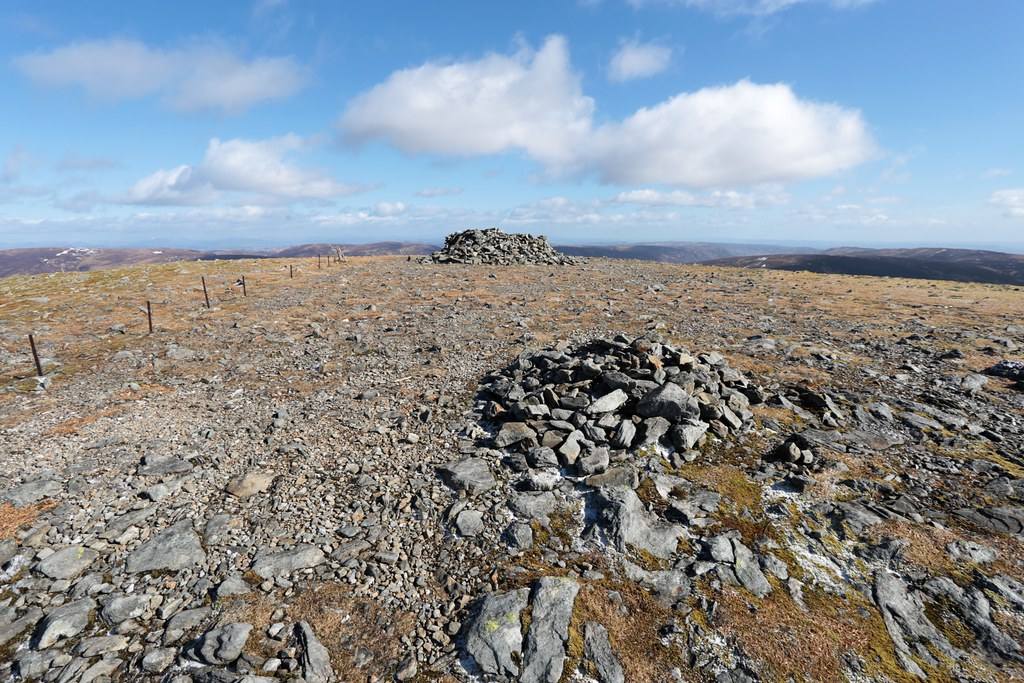 Summit of Ben Chonzie