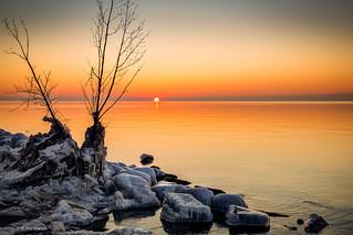 Lake Ontario sunrise   by Phil Marion (173 million views - THANKS)
