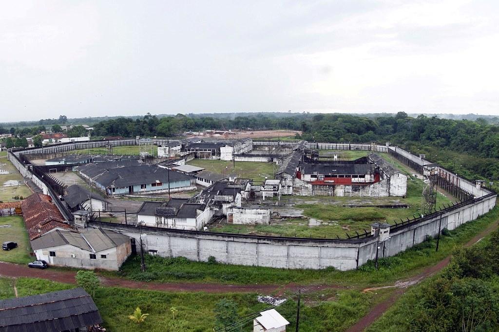 Escândalo de R$ 3 milhões da Susipe envolve aliados de Jatene e de Helder, Foto aérea do Complexo Penitenciário de Santa Izabel .FOTO: THIAGO GOMES / ASCOM SUSIPE.DATA: 14/02/2015.SANTA IZABEL - PARÁ.