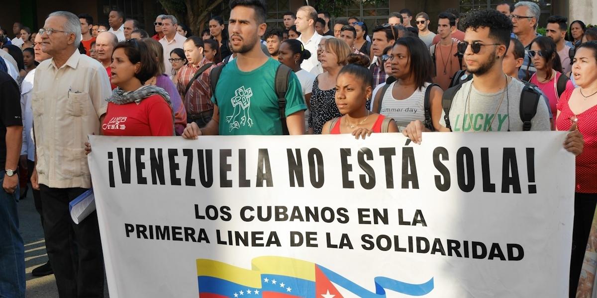 Cubanos y venezolanos rememoraron golpe de Estado de 2002