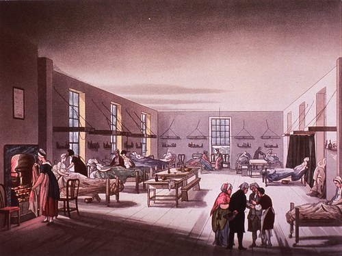 Middlesex Hospital: [A ward for women in 1808] | by National Library of Medicine - History of Medicine
