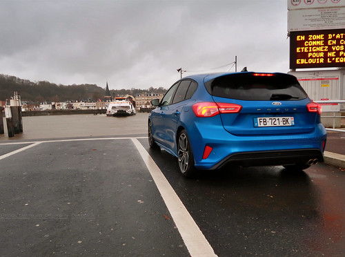 Essai Ford Focus ST Line 2019 Blue Iceland Cars Passion | by dsgforever