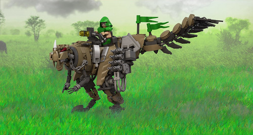 Anti-infantry Proceratosaurus