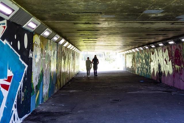 Belmont Trail, Underpass under Kenton Lane