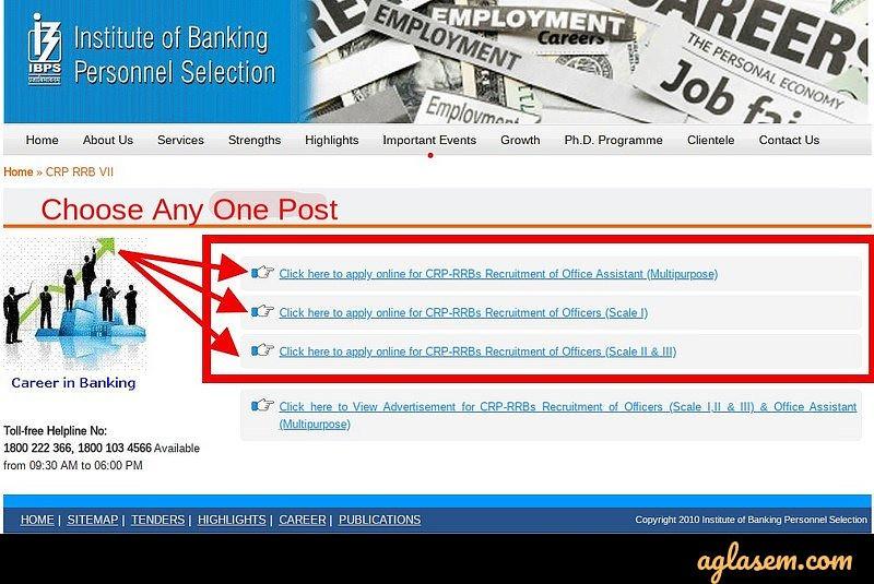 IBPS RRB Application Form 2020