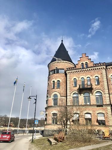 in gustavsberg vegan eats, sweden, april 11, 2019 -