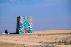 Graffiti - Agafay Desert, Marrakech