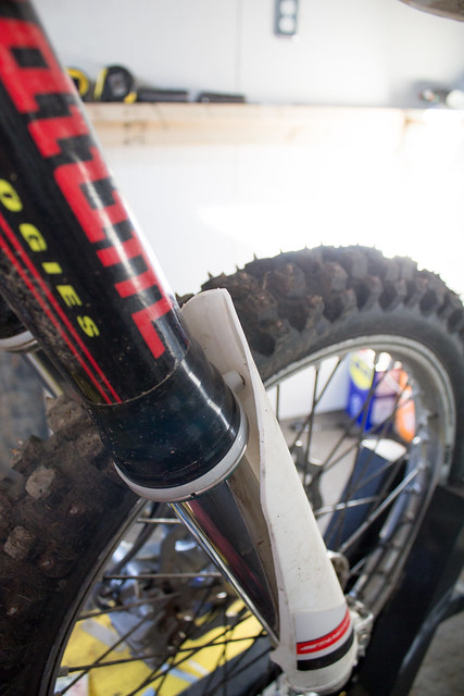 Front fork protection