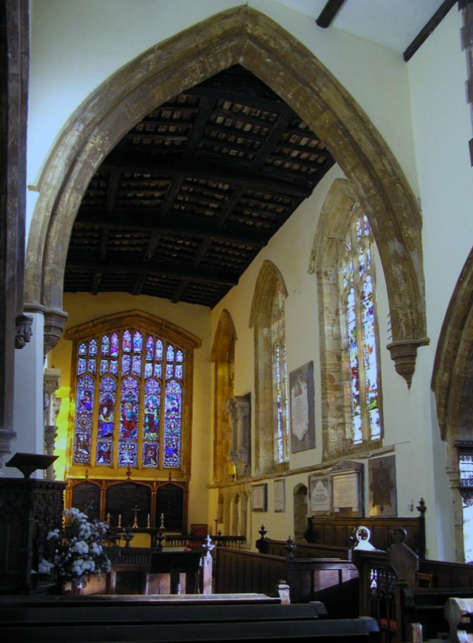 WATFORD VILLAGE, St Peter and St Paul interior