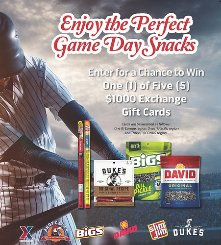 ConAgra Baseball Sweepstakes | by Army & Air Force Exchange Service PAO