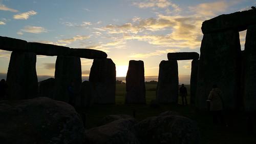 Stonehenge private access viewing at sunrise and sunset   by Stonehenge Stone Circle News www.Stonehenge.News