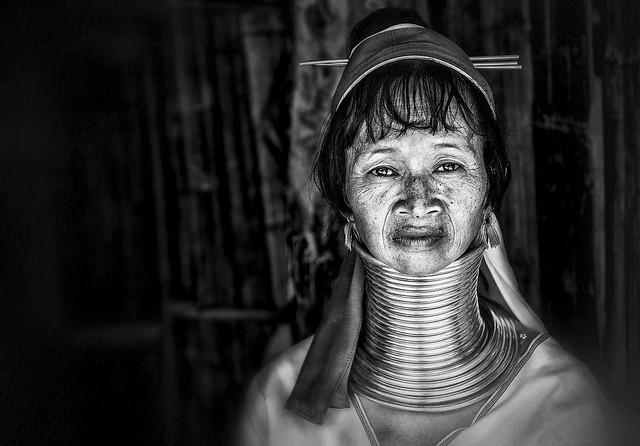 Long-neck Karen woman, Thailand