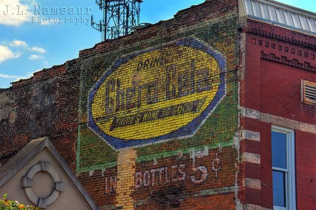 Chero Cola Ghost Sign - Shelbyville, TN