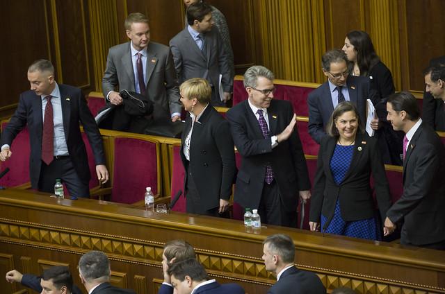 Vice President Biden delivers remarks at the Verkhovna Rada of Ukraine, December 8, 2015