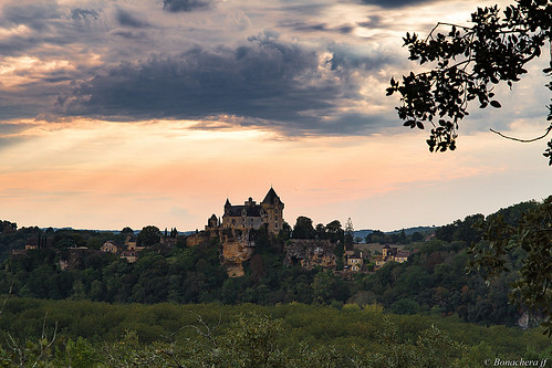 montfort chateau dordogne coucherdesoleil sunset