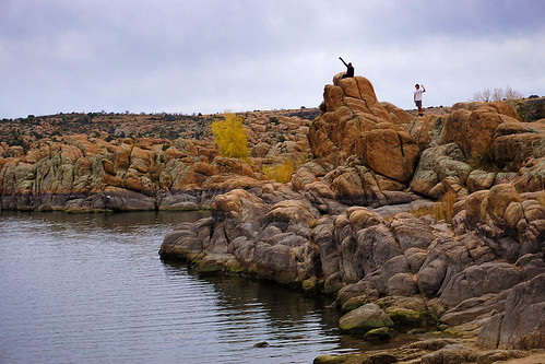 landscapes lakes arizona rocks