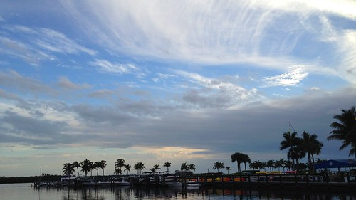 clouds cirrus sky lemoncoral gulfcorals cloudy sunset cape coral swfl