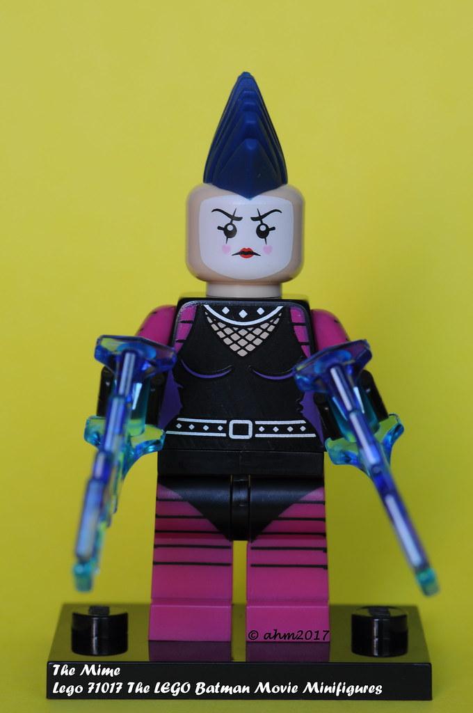 Batman Movie 71017 Lego Mime Minifigure