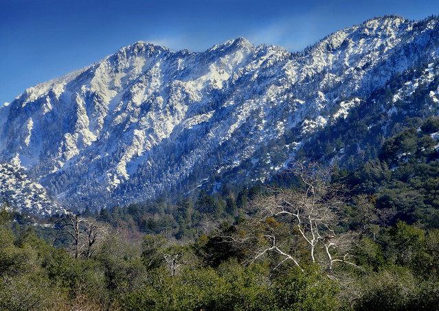 Little San Gorgonio Peak, Highway 38, California
