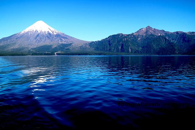 Los dos volcanes, Osorno, Picudo