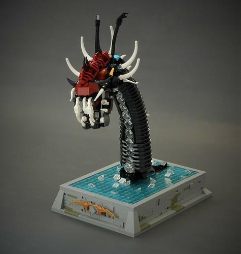 Jörmungandr - serpent from the deep