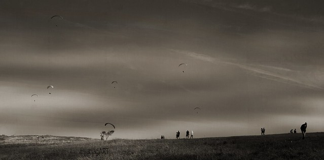 Looking for wind... Eastbourne Downland_ East Sussex_ England