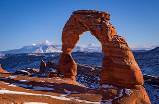 Delicate Arch, New Year's Day 2019 | by IntrepidXJ