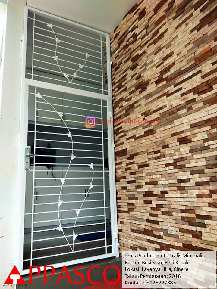 Pintu Besi Teralis Minimalis Modern Anti Maling Di Lavanya Flickr