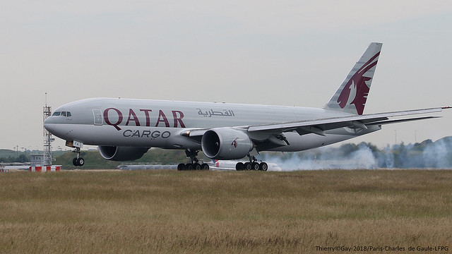A7-BFA Qatar Airways Cargo Boeing 777F