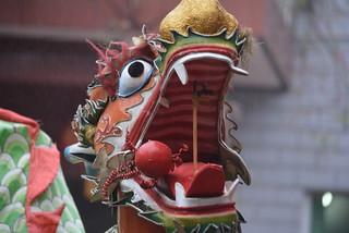 INTERESTING MECHANICS!!!  NEAT DRAGON.  XI'AN,  CHINA.