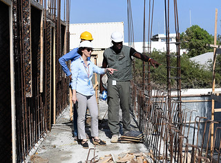 Selvi Yurtalan from Turkey is Chief Engineer with UNSOS in Somalia | by United Nations Peacekeeping