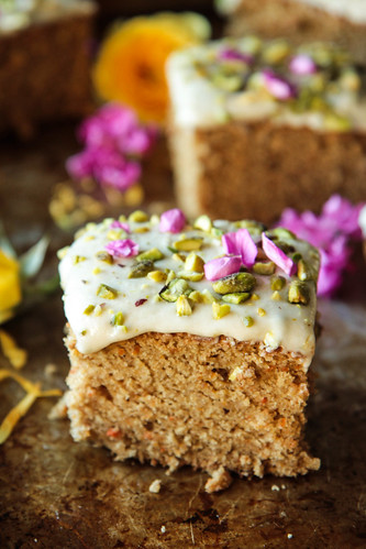 Carrot Cake Vegan and Gluten-Free from HeatherChristo.com | by Heather Christo