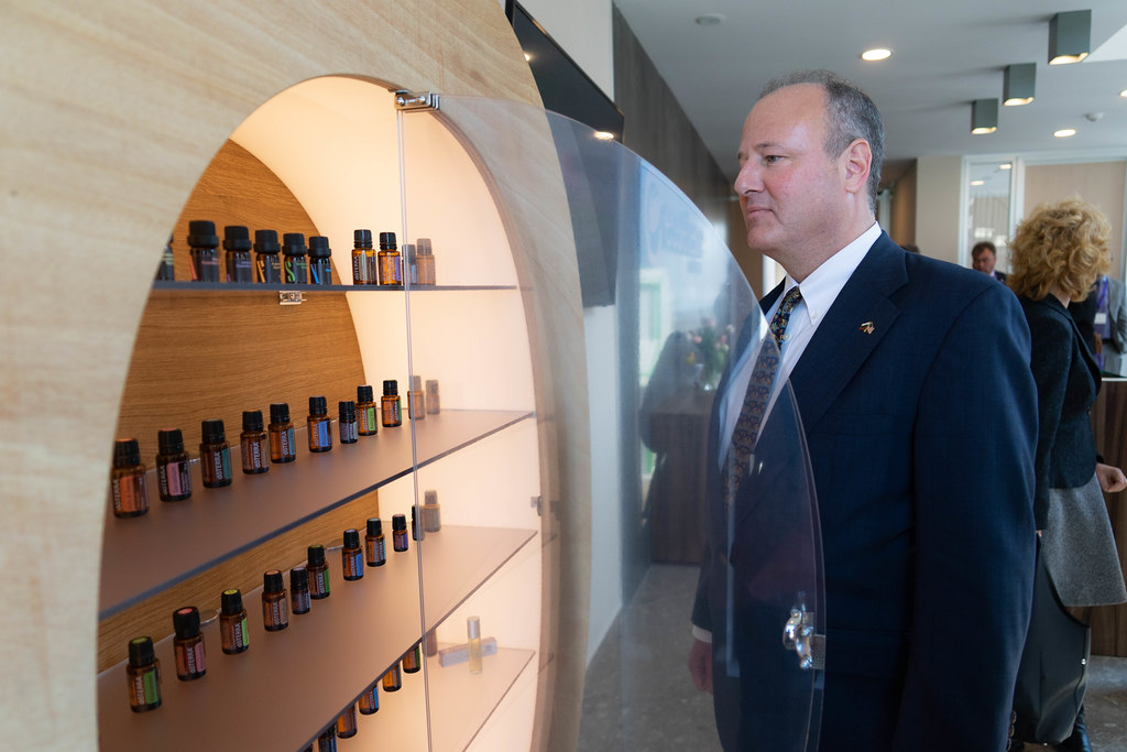 Ambassador Rubin Visits Essetere Bulgaria Essential Oils Distillery in Dobrich
