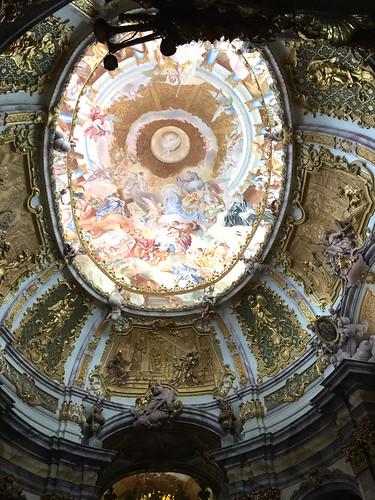 28 - Klosterkirche Weltenburg - Deckengemälde