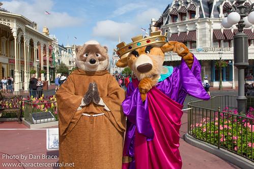 Meeting Friar Tuck and Prince John | by Disney Dan