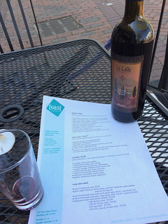 Toast Menu with Bottle of wine | by WineAndCheeseFriday