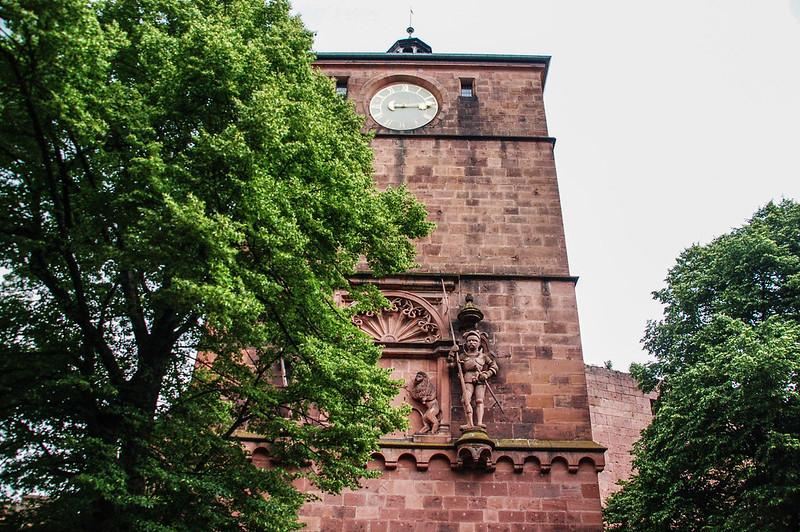 海德堡城堡門