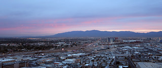 Las Vegas at twilight   by Parkzer