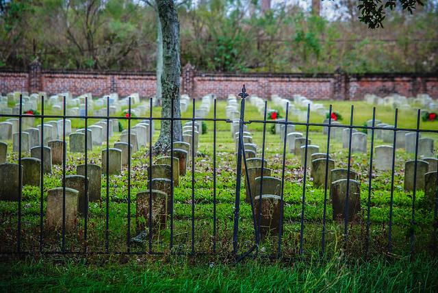 Entering Chalmette Cemetery