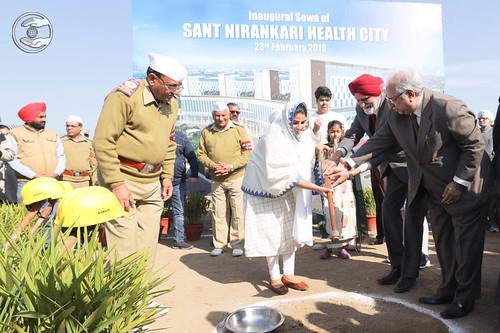 Inauguration of Sant Nirankari Health City