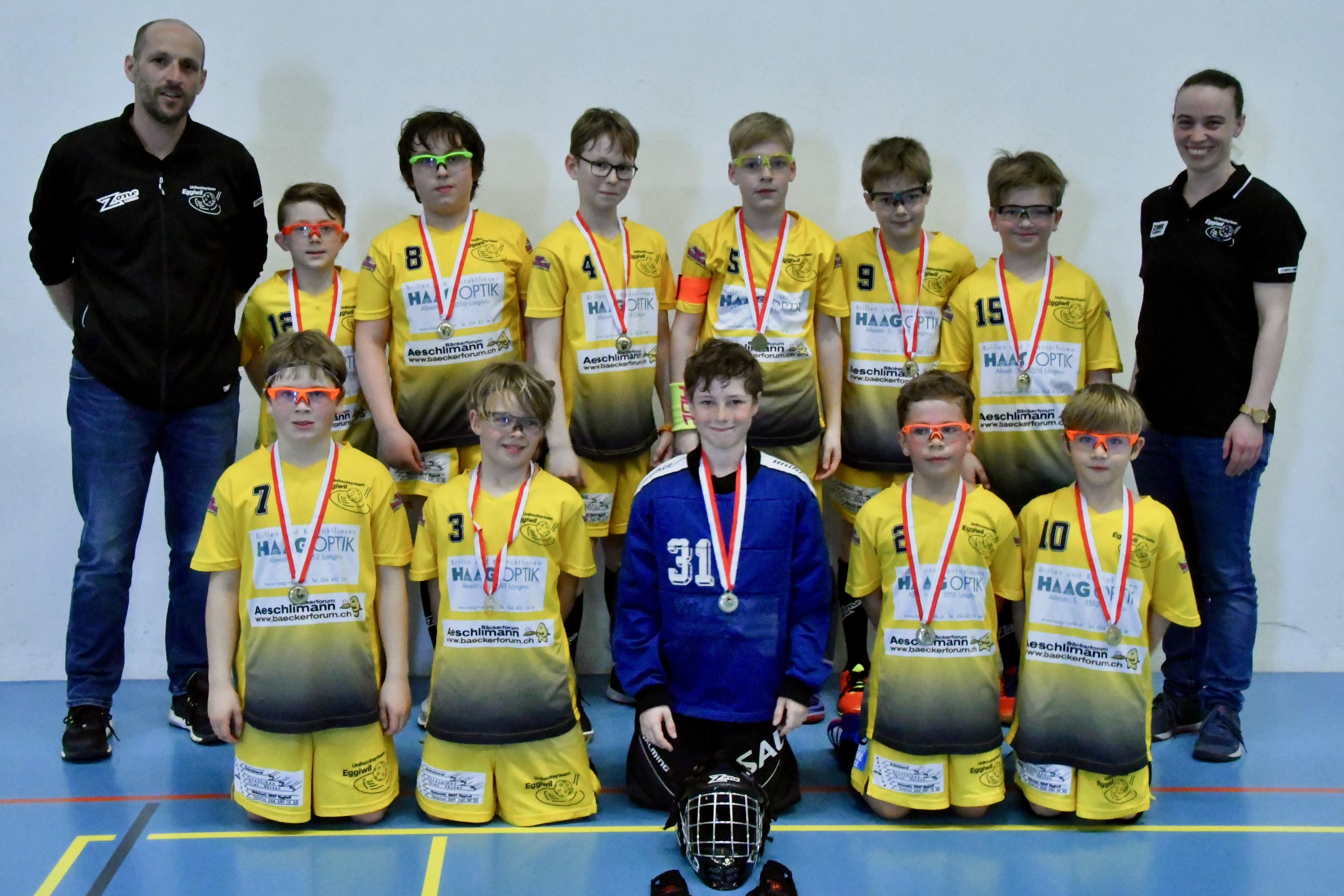 Junioren D l - SV Wiler-Ersigen lll, Saison 2018/19